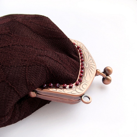 кружевной кошелек, lase small purse