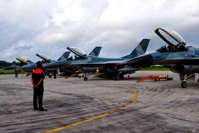 F-16 Fighting Falcon - TNI-AU. Prokimal Online Kotabumi Lampung Utara