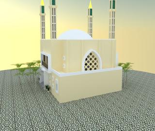 Islamic Center, Memadukan Masjid dengan Perpustakaan