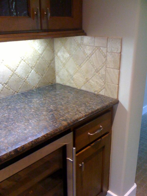 Tiling A Kitchen Backsplash Tips