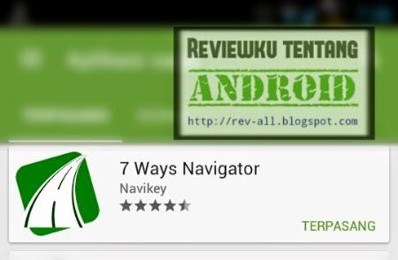 Ikon aplikasi 7ways android - aplikasi navigasi gratis yang keren