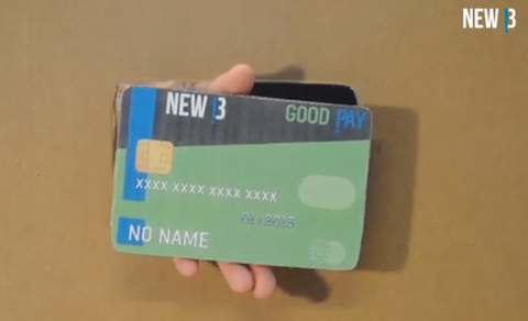 Carte Good Pay de NewB