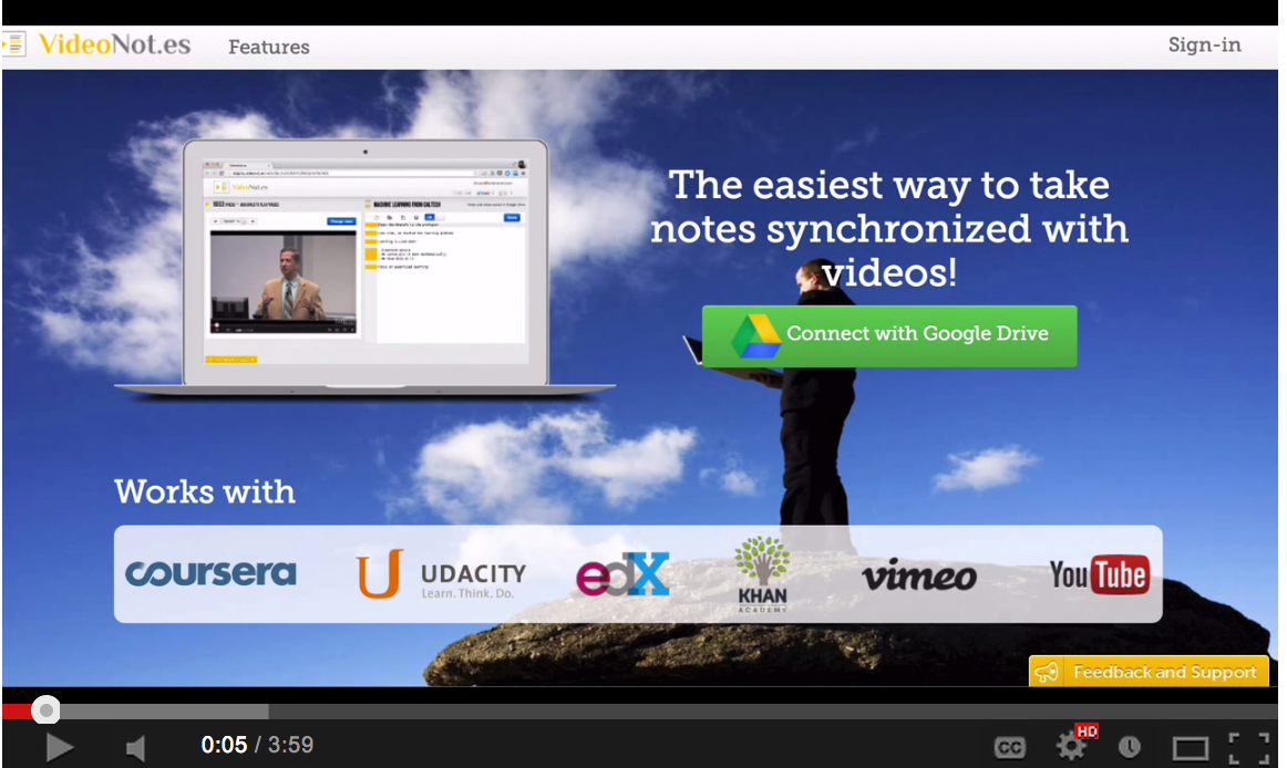 A Great Google Drive Tool for Taking Notes While Watching Videos ~ Educational Technology and Mobile Learning