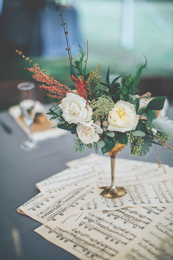 Ideas For A Gorgeous Music Themed Wedding Lots Of Love Susan
