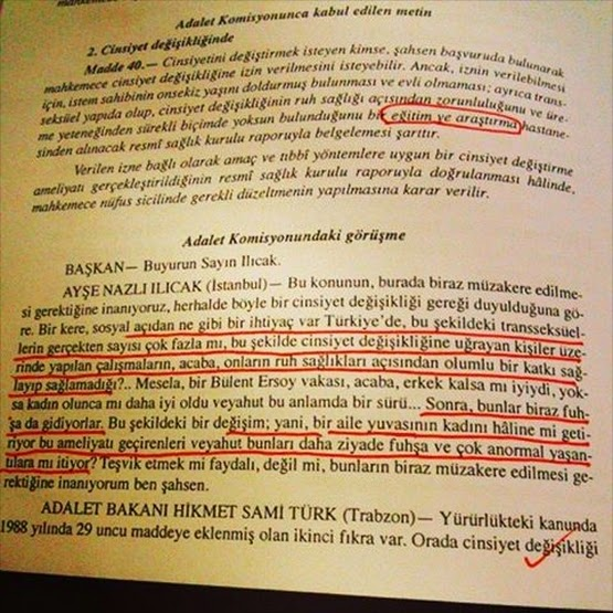 nazlı ılıcak türk medeni kanun değişiklik transfobi fuhuş kadın bülent ersoy