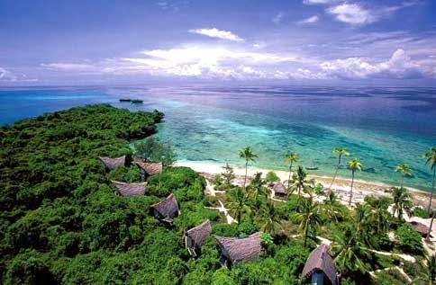 Aquí podemos observar lo bello del mar en Tanzania.