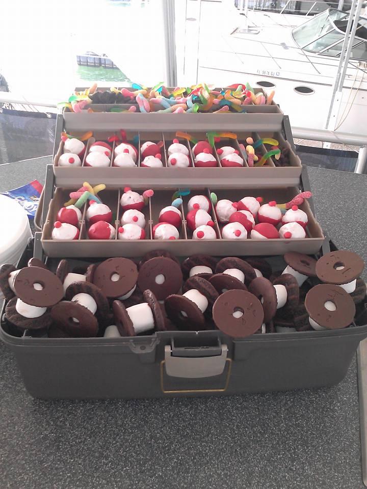Fishing Tackle Box Cake
