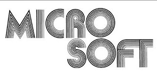 logo Microsoft Era Tahun 1975-1979