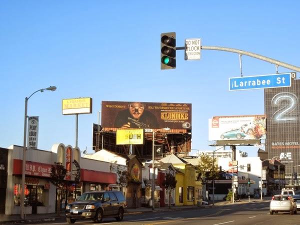 Klondike Discovery billboard