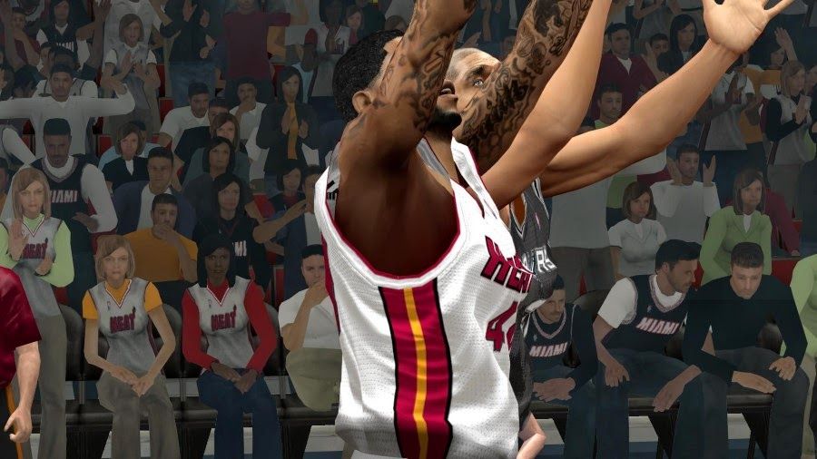 NBA 2K14 Movement Physics & Tighter Jersey Mod