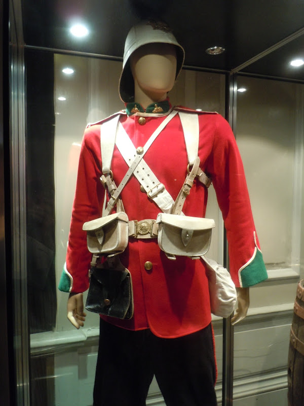 South Wales Borderers uniform Zulu movie