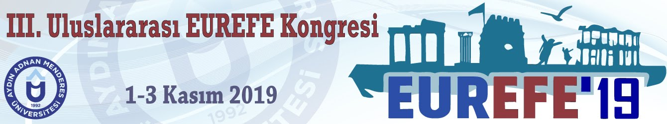 III. Uluslararası EUREFE Kongresi