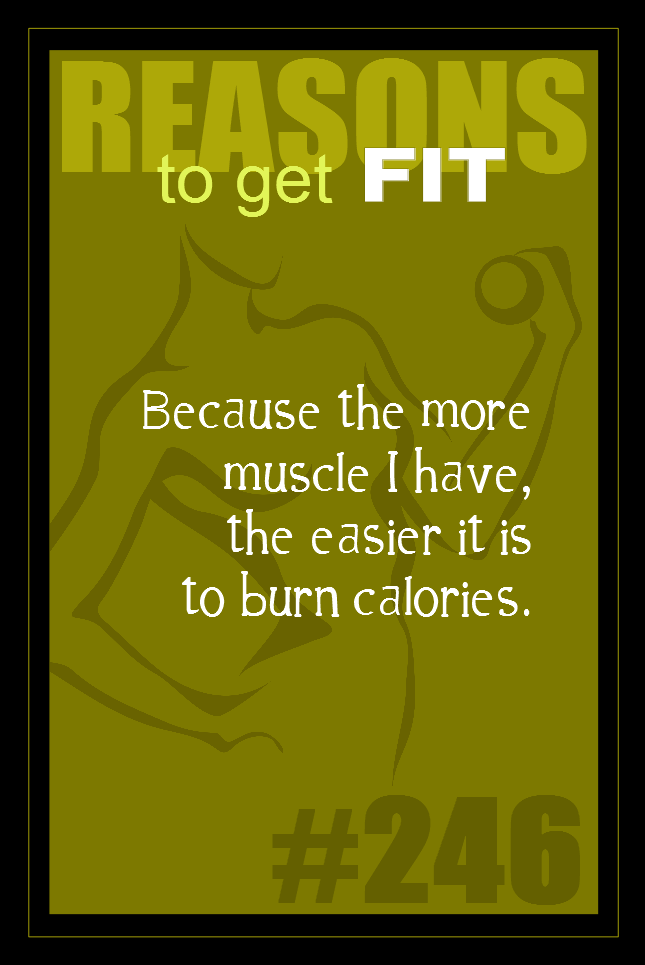 365 Reasons to Get Fit #246