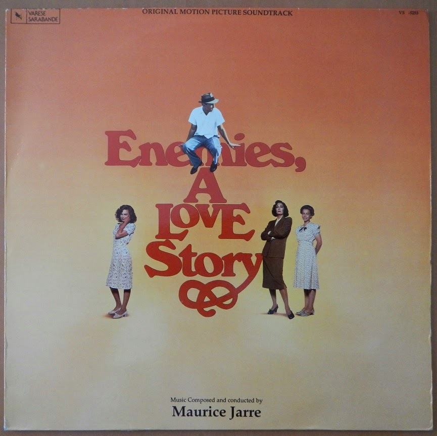 Enemies A Love Story Soundtrack  1989 New Factory Sealed