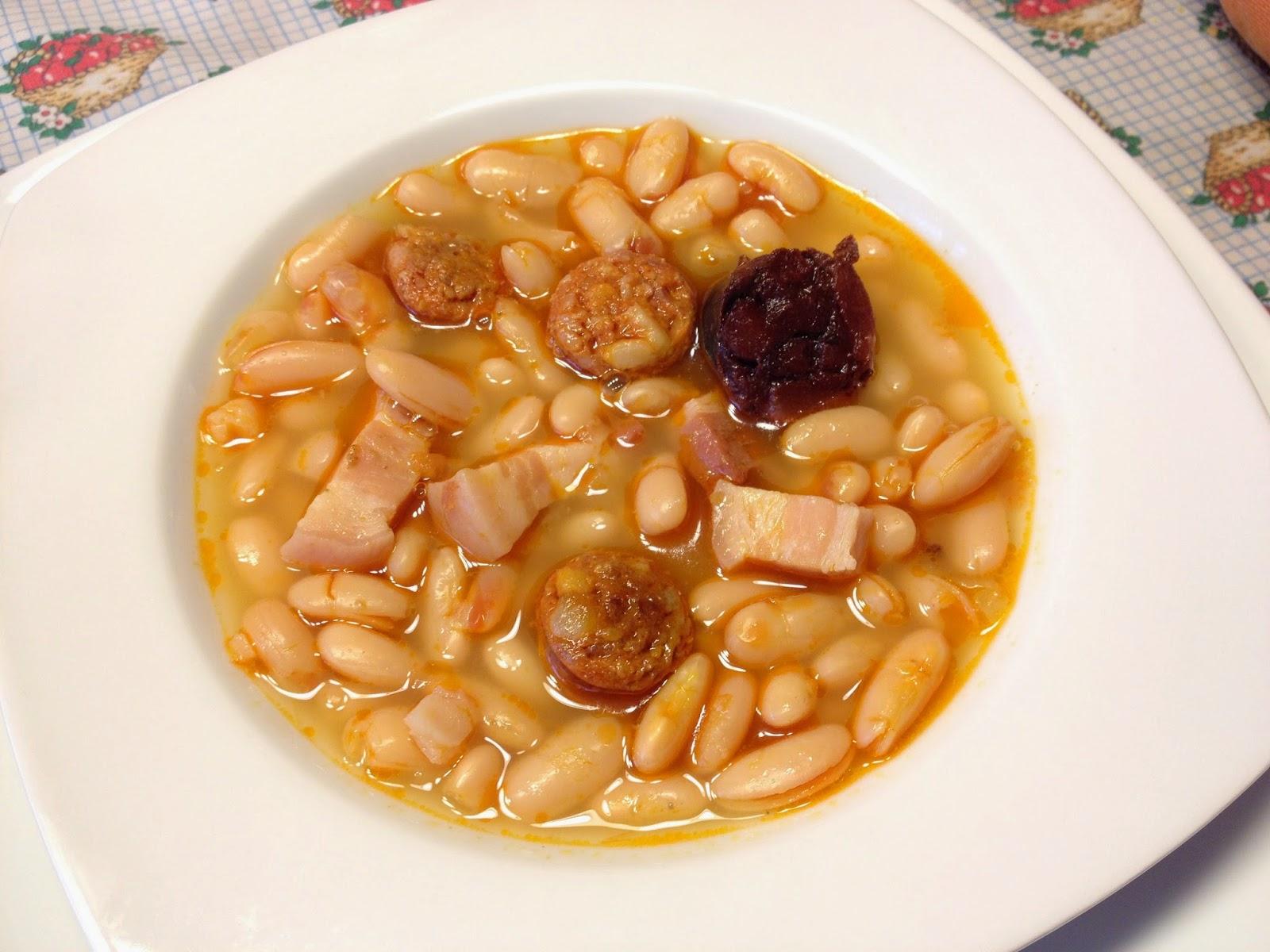 La cocina de casa jud as blancas con chorizo - Judias con chorizo y patatas ...