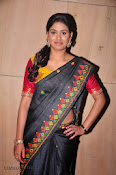 Actress Maneesha Photos in Saree-thumbnail-15