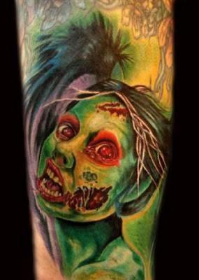 Halloween Tattoos