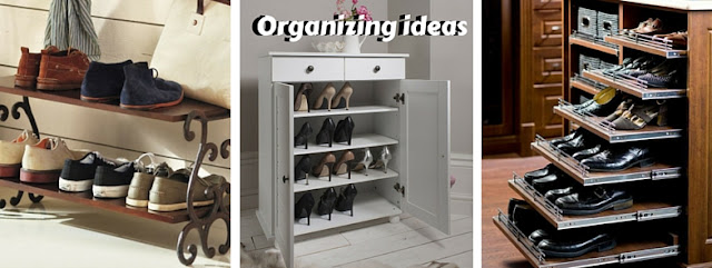Ideas for shoes organizing