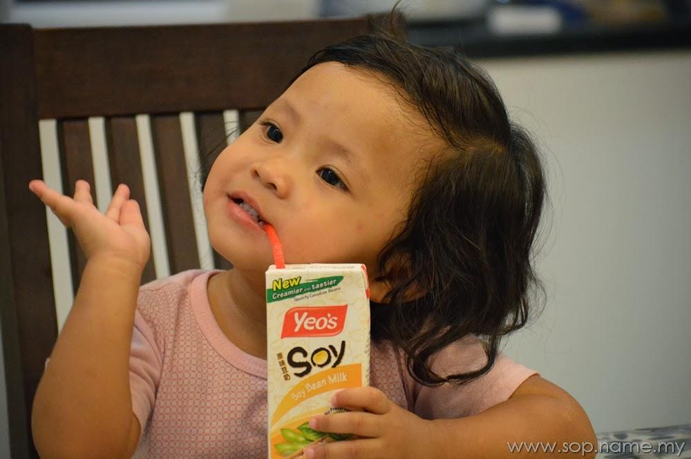 Yeo's Pilihanku dan pilihan keluarga kami