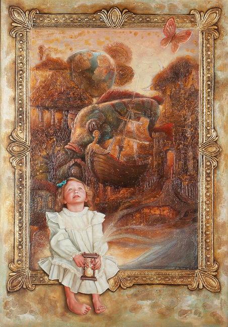 Sergey Kustarev Сергей Кустарев 1973 | Rusia pintor realista