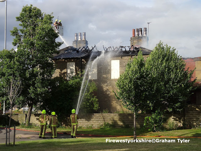 Ravensthorpe, building, fire, Huddersfield Road