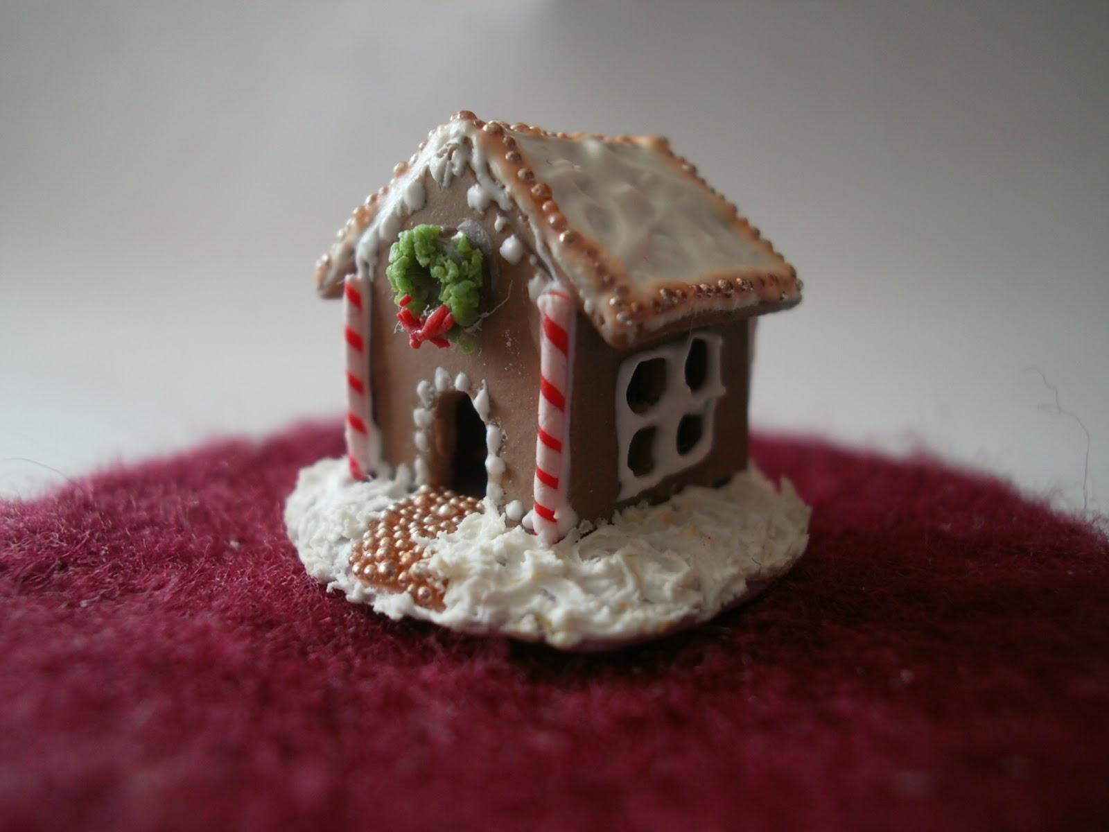 Sophie 39 s miniatures miniaturas casa de jengibre for Casa jengibre