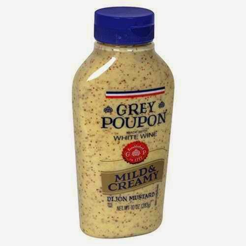 Grey Poupon mustard product