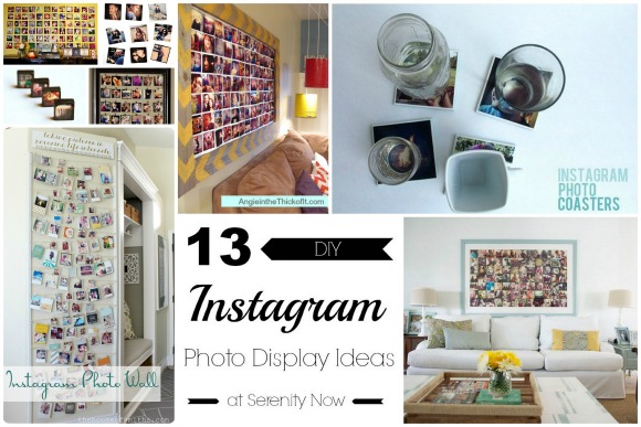 DIY Instagram Photo Display Ideas, at Serenity Now