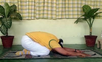 Benefits of Shashankasana in Hatha Yoga