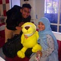 Fatin With Fans