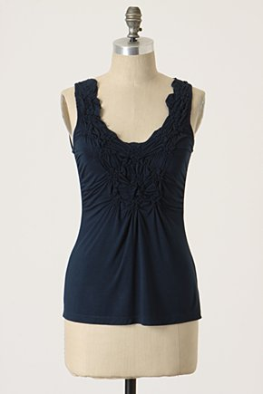 Moda: Remera fruncida imitacion Anthropologie