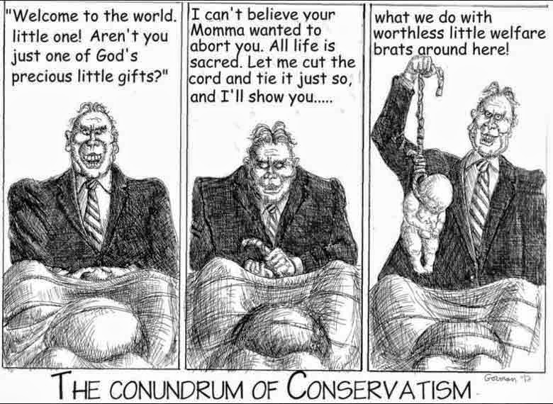 CONSPIRACIES OF CONSERVATISM DEMENTED MINDS