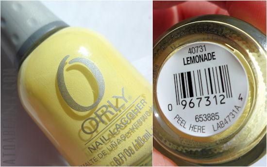 Orly, Lemonade