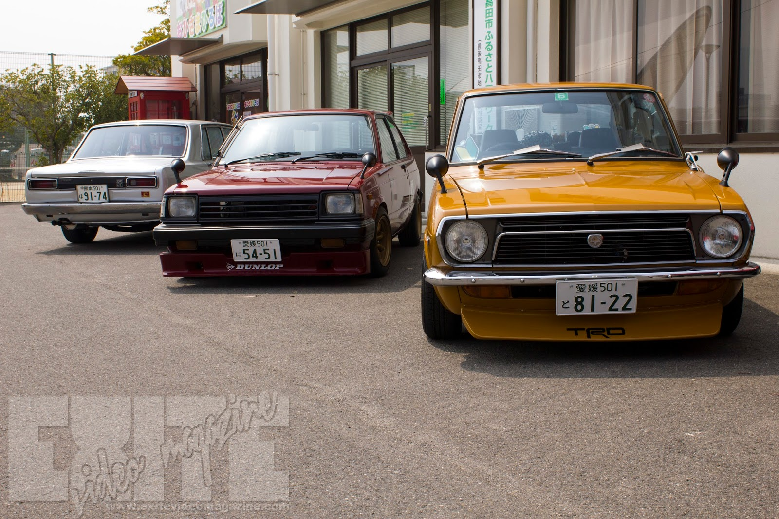 A Classic Lineup At The Bungo Takada Retro Car Show EXite Video - Classic car show tomorrow