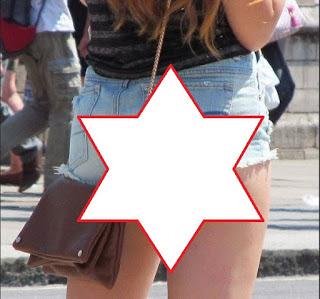 "PELIK !! Skirt pendek ""PATERN PELIK"" ini punca kerajaan US bakal haramkannya di seluruh US .!! Cuba korang perhati. Patut ke design ni kene haram. . perhati gambar number 5 memang MENGUJAKAN!!!"
