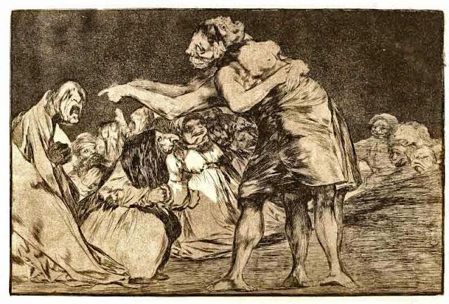 Goya, Folie désordonnée