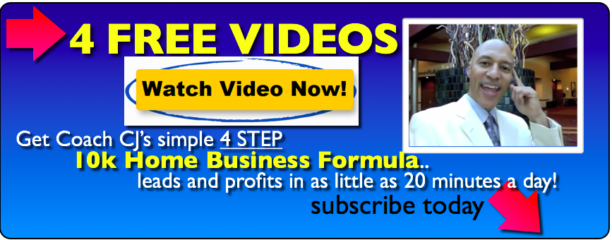 CJ Small Home Business Boss Training