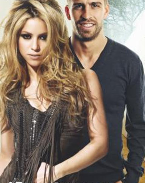 gerard pique shakira. with Gerard Pique, Shakira