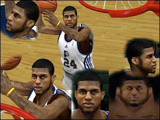 Paul George Cyber Face NBA 2K13 Mod