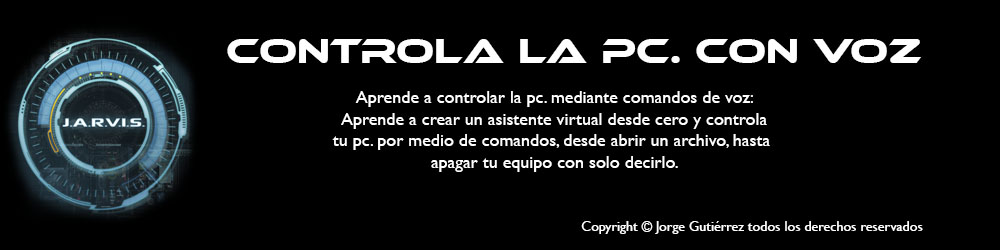 Controlando La PC. por voz