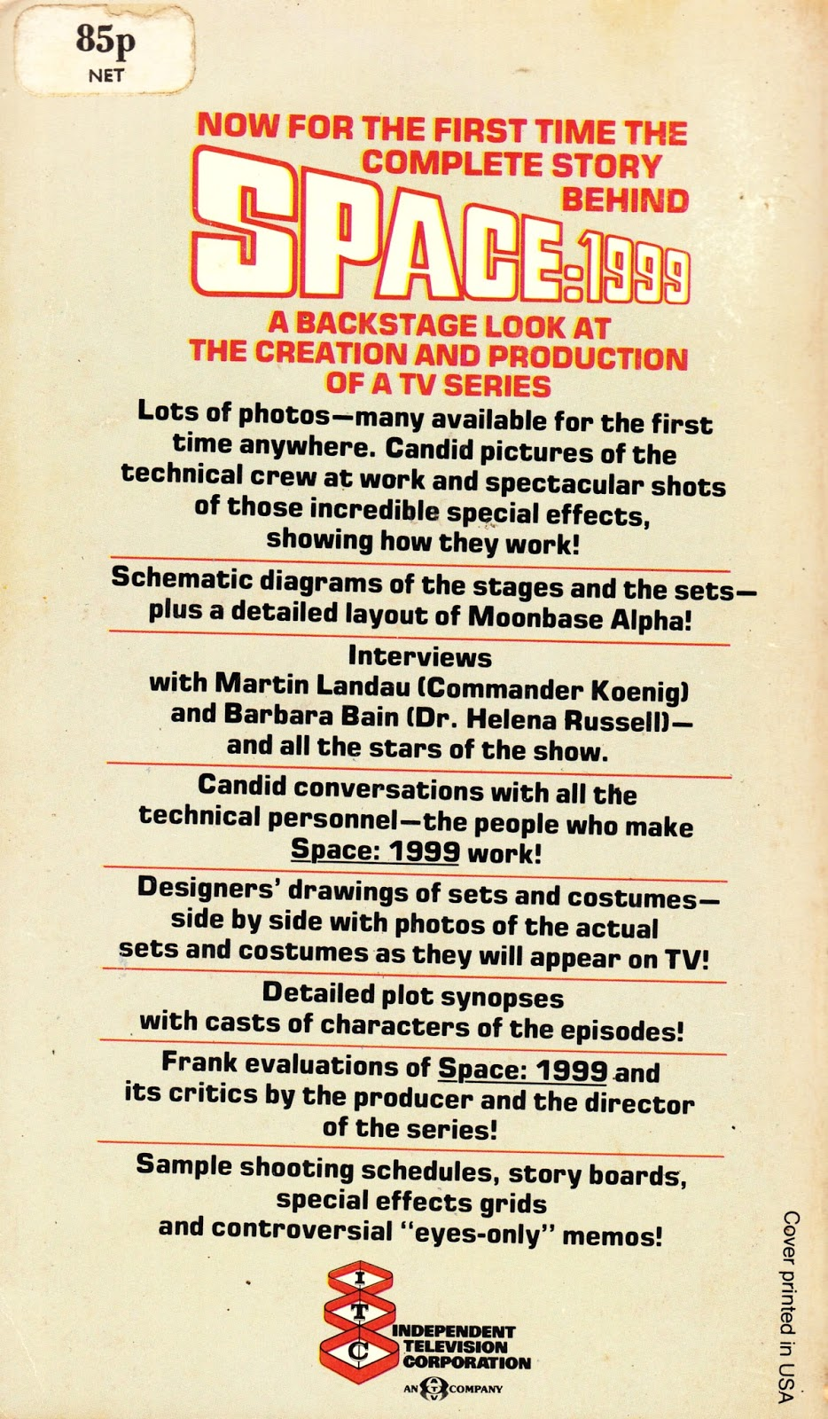 the making of space 1999 tim heald pdf