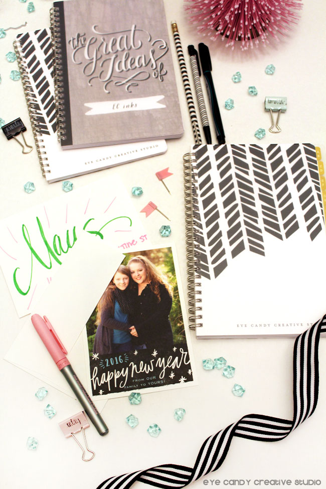 personalized stationery from minted, new year cards from minted