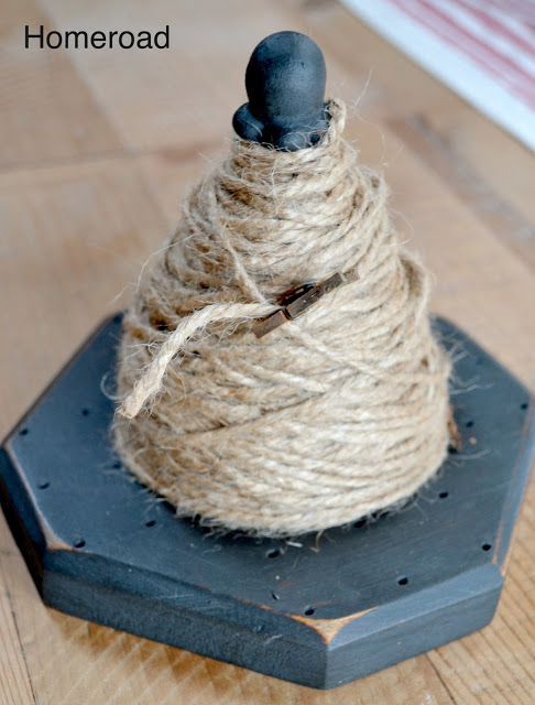 diy string cone
