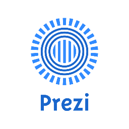 Prezi Logo in Blue