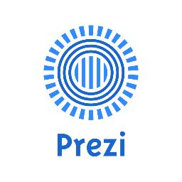 Prezi Logo in Blue