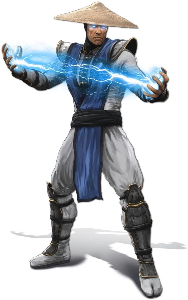 Rayden Mortal Kombat