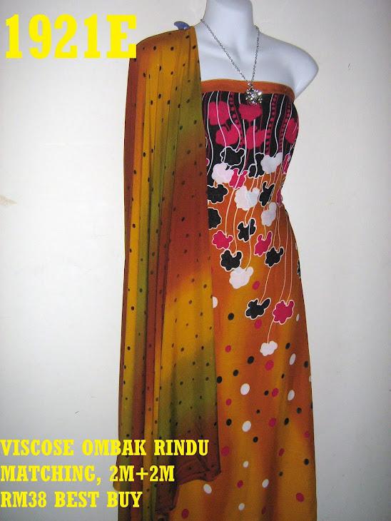 VOM 1921E: VISCOSE OMBAK RINDU MATCHING, 2M+2M