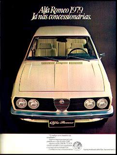 propaganda Alfa Romeo 1979