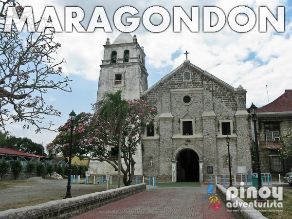 Maragondon Church in Cavite