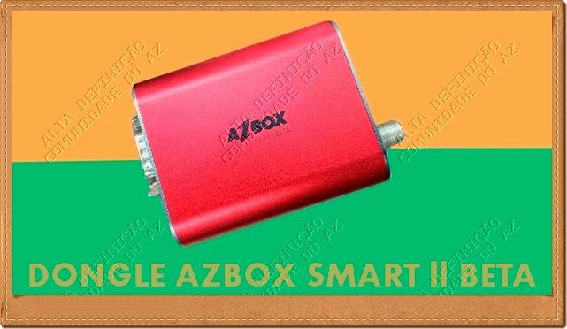 Azbox dongle smart II Beta Vermelho - Atualização 28/04/2014